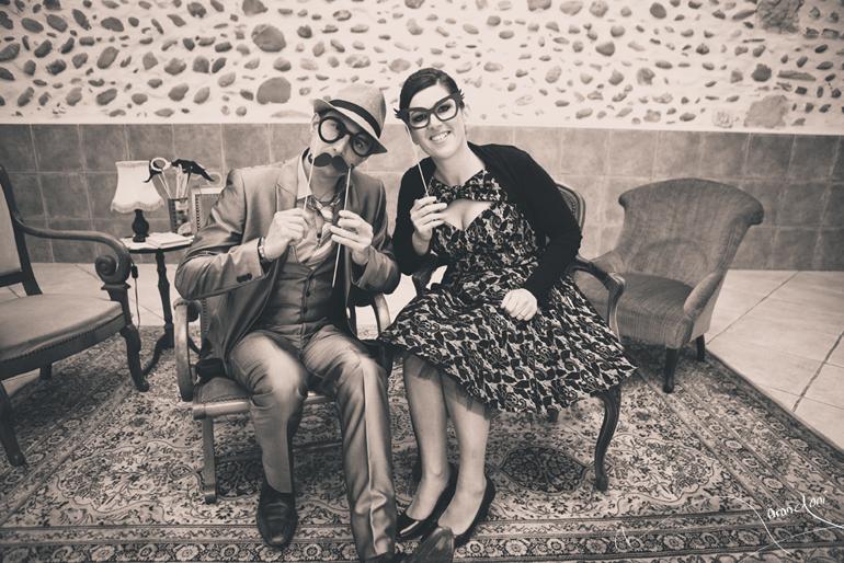 Photographe Mariage Pau, Retro Vintage M&M.