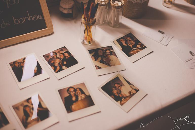 Photobooth Polaroid Mariage Retro Vintage