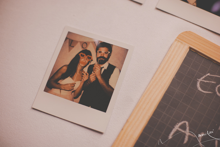 Photobooth Polaroid Mariage Retro Vintage