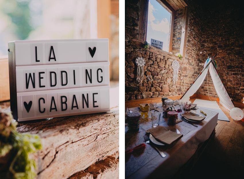 Wedding Cabane Tipi Mariage Enfants