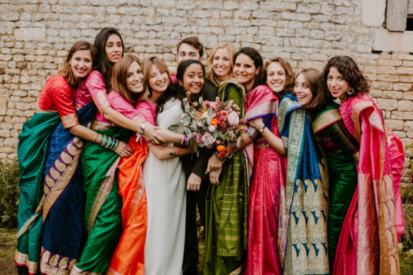 Mariage Bollywood, inspiration photo.